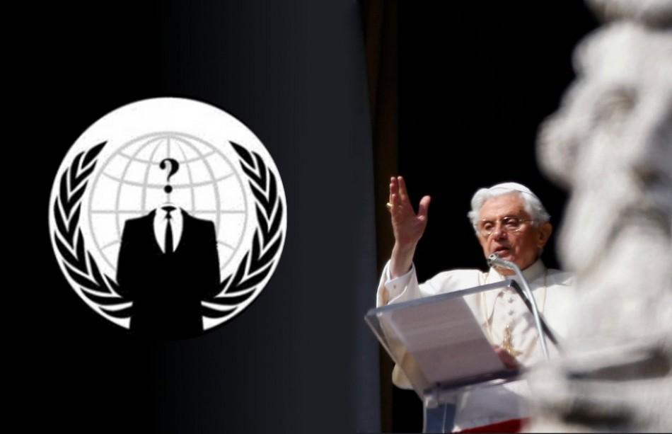 Aнонимните хакнаха и Ватикана