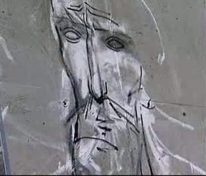 Перловската река вече е обрисувана с графити