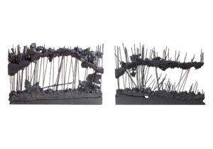 Елена Яневска- spring 2 x 75_50_ 8 cm чугун, гранит
