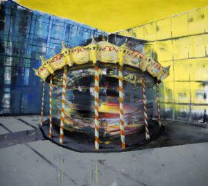 Приказка без край - 190x170 акрил върху платно 2014