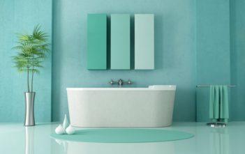 Дизайна на съвременна баня без тоалетна