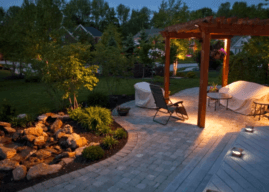 Как да изградим LED осветление в двора?