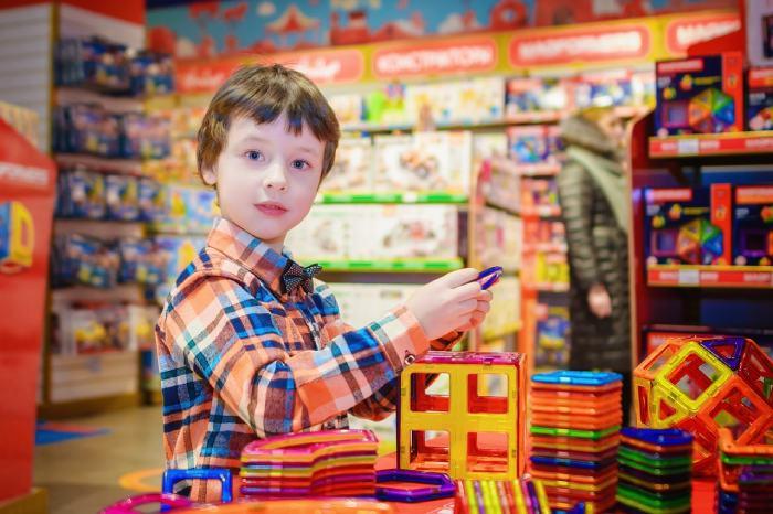 Пазаруване за деца